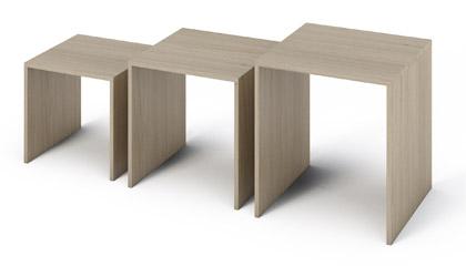 Set klubskih mizic Simple Sonoma