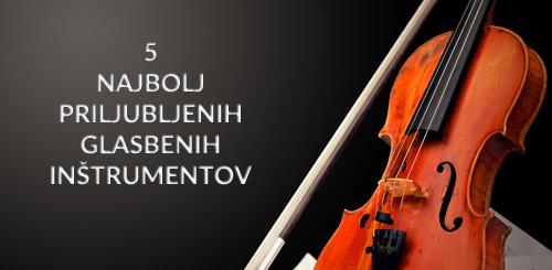 Priljubljeni glasbeni inštrumenti