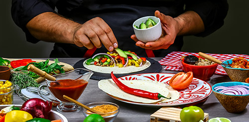 Mehiški recepti za zdravo kosilo