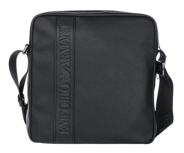 Moška torbica Emporio Armani Nero
