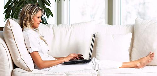 Delo od doma - spletna trgovina