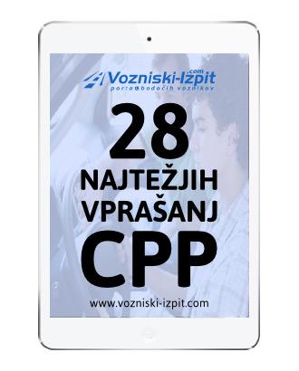 Najtežja vprašanja CPP